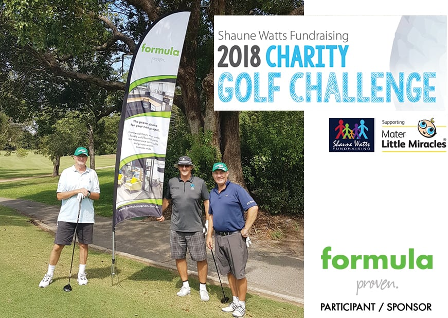 2018 Charity Golf Challenge – Supporting Mater little Miracles