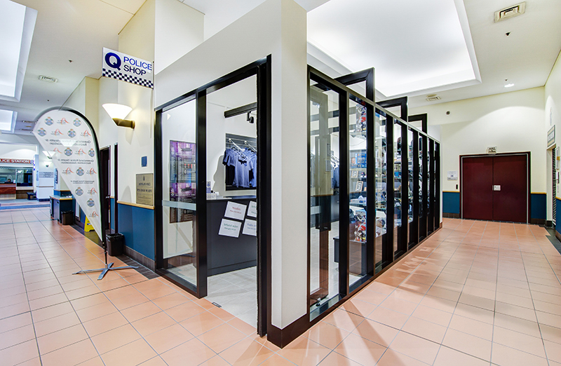 QPS Police Shop - Fitout / Refurbishment / Retail by Formula Interiors