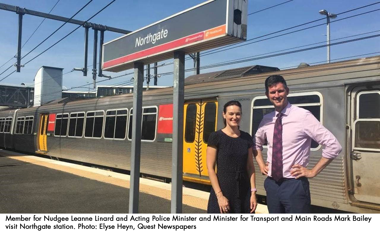 Formula working with Queensland Rail and Queensland Police Service to boost security for train travelers / Formula Interiors