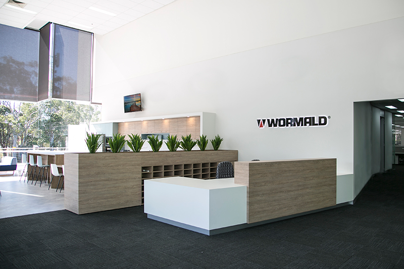 Wormald Head Office - Sydney Fitout / Refurbishment / Commercial by Formula Interiors