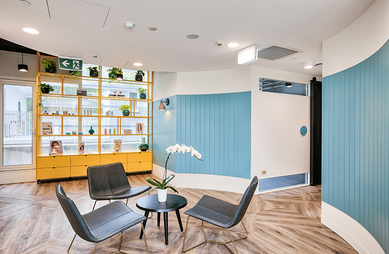 Herstellen Clinic - Fitout / Refurbishment / Medical by Formula Interiors
