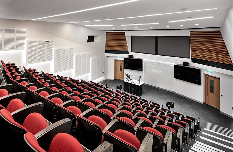 MacUni- Fitout / Refurbishment / Education / Lecture Auditorium by Formula Interiors