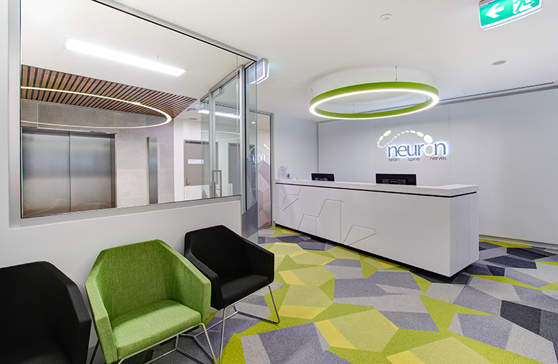 Brisbane Private Hospital-Consultant Suites- Neuron - Fitout completed by Formula Interiors