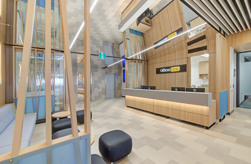 Offices First - Australia Fair - Fitout completed by Formula
