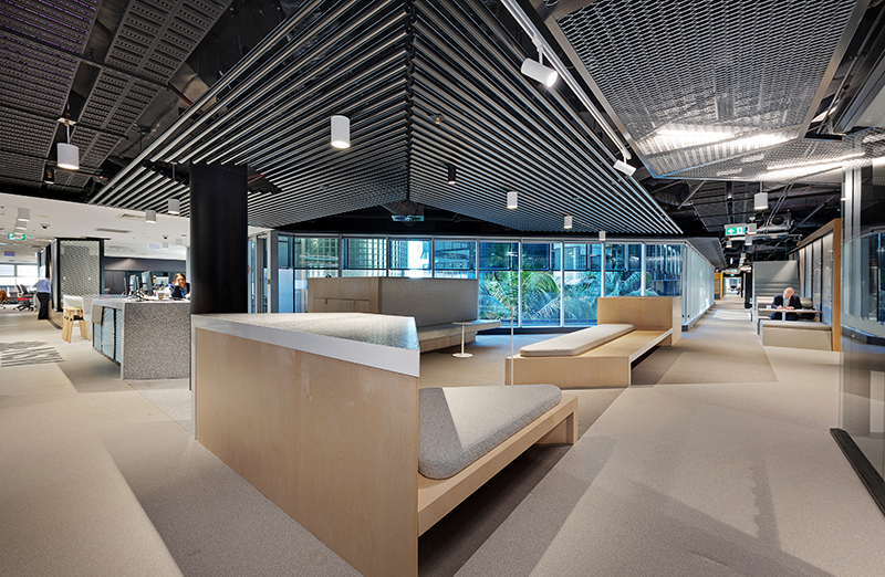 Transport for NSW - Octogon Office Fitout Refurbishment Project by Formula Interiors