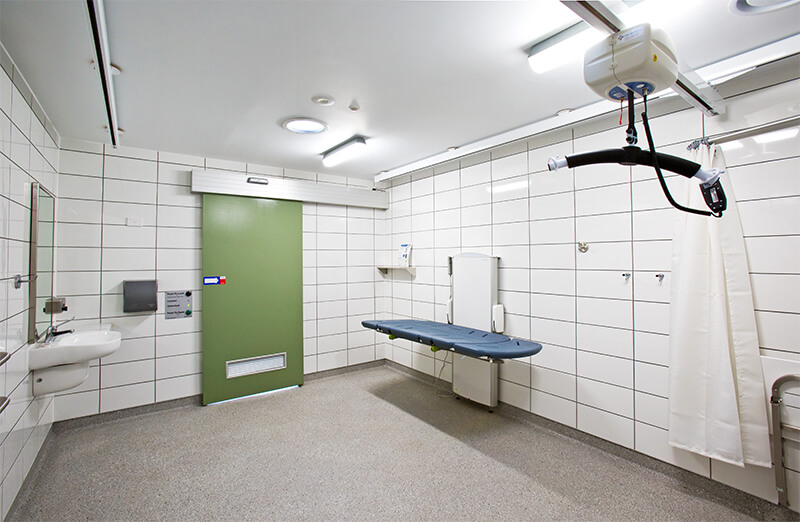 Changing Places Public Facility Fitouts / Formula Interiors