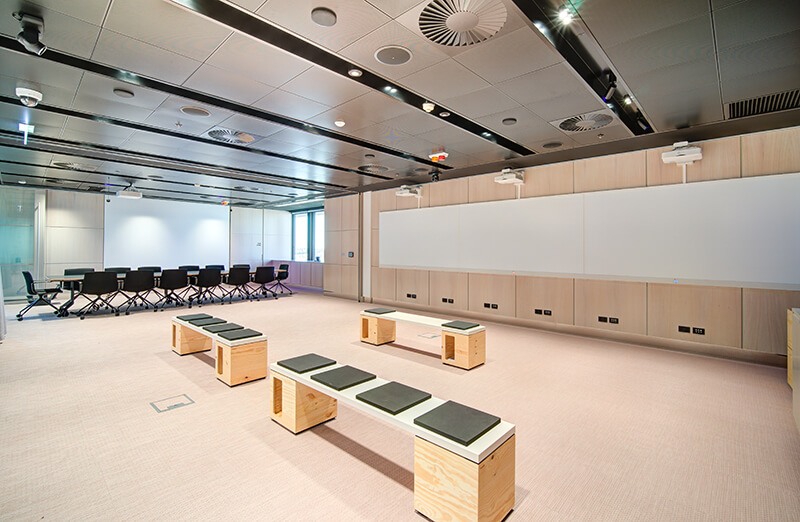 A World-Class Health and Education Fitout for HBI / Formula Interiors
