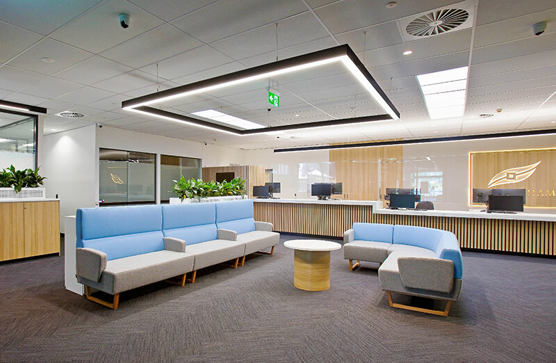 Reception Area Fitout: Refresh your Reception Area with a Fitout Facelift / Formula Interiors